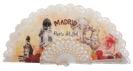 Abanico plástico Madrid 258BLA