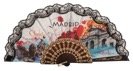 Abanico plástico Madrid 259NEG
