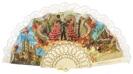 Abanico plástico colección souvenir 261MFL