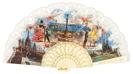 Abanico plástico colección souvenir 273MFL