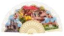 Abanico plástico colección souvenir 275/9MFL