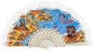Abanico plástico Costa Brava 283BLA