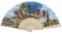 Plastic fan souvenir collections 100/1BLA