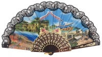 Plastic fan souvenir collections 1009NEG