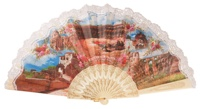 """Semi-pericon"" plastic fan for souvenir 1010/4MFL"