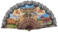 Plastic fan souvenir collections 1016NEG