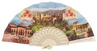 Plastic fan souvenir collections 1017/1MFL