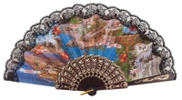 Plastic fan souvenir collections 1069NEG
