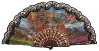 Plastic fan souvenir collections 151NEG