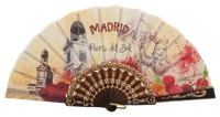 Plastic fan souvenir collections 258/1NEG