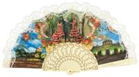 Abanico plástico colección souvenir 260MFL