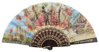Plastic fan souvenir collections 261/1NEG