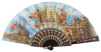 Plastic fan souvenir collections 263/1NEG