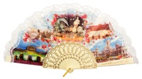 Plastic fan souvenir collections 267MFL