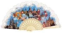Plastic fan souvenir collections 275/6MFL
