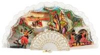 Plastic fan folklore collections 277/5BLA