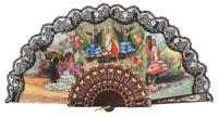 Plastic fan folklore collections 280NEG