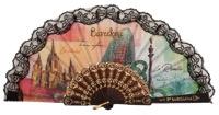 Plastic fan souvenir collections 297NEG