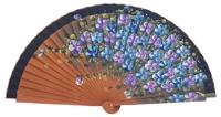 Fantasy pear wooden fan 3101MAR
