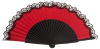 """Semi-pericon"" wooden fan 3136NRN"