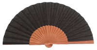 Gentleman pear wood fan 3189NEG