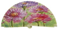Hand painted fagus wood fan 3250PIS