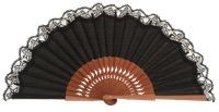 Pear wooden fan 3269NEG
