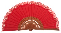 Pear wooden fan 3269ROJ