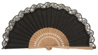 Oak wooden fan 3270NEG