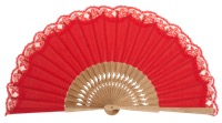 Oak wooden fan 3270ROJ
