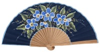 Hand painted oak wood fan 3315MAR
