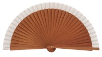 Gentleman pear wood fan 3427BLA