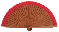 Gentleman pear wood fan 3427ROJ