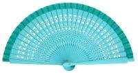 Wooden fan in colors 4013ESM