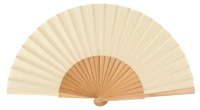 Wooden fan in colors 4048NAT