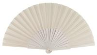 Wooden fan in colors 4049BLA