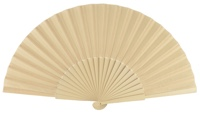 Wooden fan in colors 4049MFL