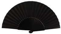 Wooden fan in colors 4049NEG