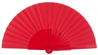 Wooden fan in colors 4049ROJ