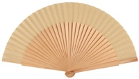 Wooden fan in colors 4055NAT