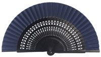 Wooden fan in colors 4056MAR