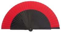 Wooden fan in colors 4057NER