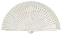 Wooden fan in colors 4060BLA