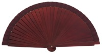 Wooden fan in colors 4060GRA