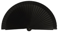 Wooden fan in colors 4060NEG