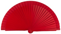 Wooden fan in colors 4060ROJ