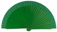 Wooden fan in colors 4060VER