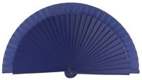 Wooden fan in colors 4060VIO