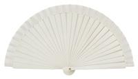 Wooden fan in colors 4063BLA