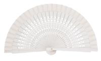 Wooden fan in colors 4064BLA